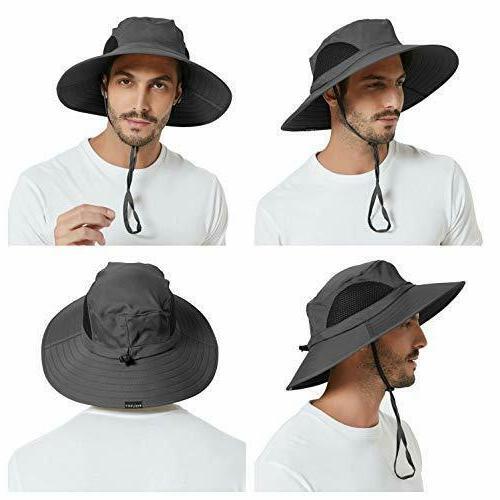 Sun Protection Bucket Hat Waterproof Packable Unisex New