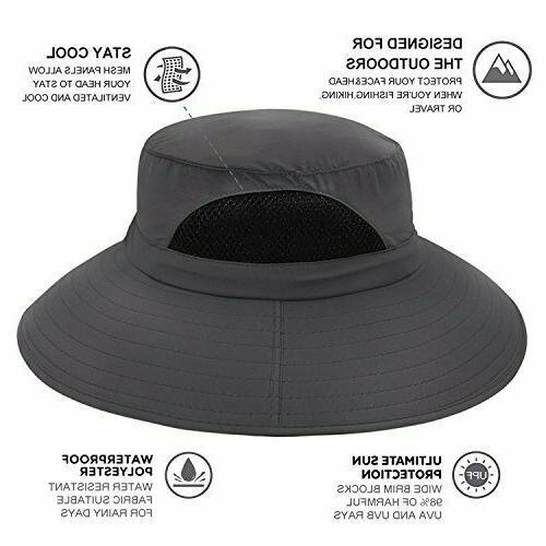 Sun Protection Bucket Waterproof Packable Unisex