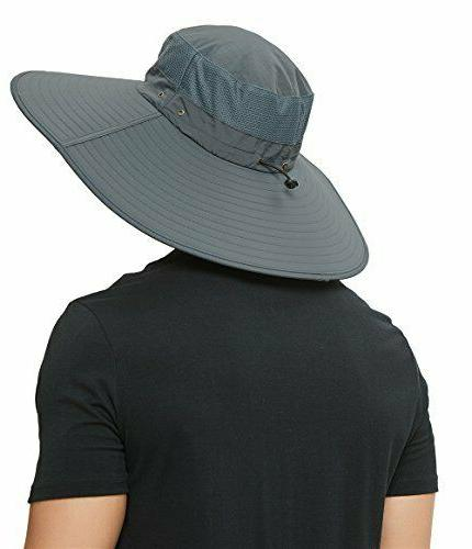 Super Brim Hat-UPF Protection,Waterproof Hat for