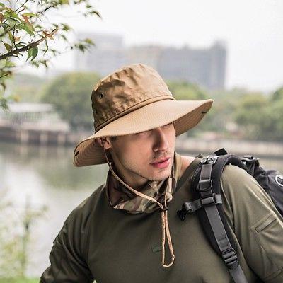 Tactical Army Boonie Bucket Bush Fishing Cap Brim