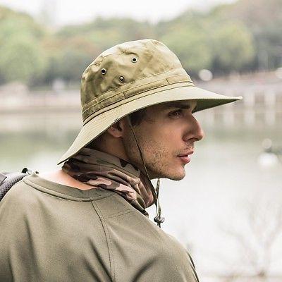 Tactical Boonie Bucket Men's Bush Fishing Cap Brim