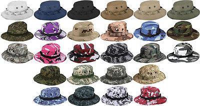 Tactical Military Camo Bucket Sun Cap