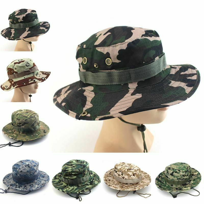 Tactical Hats Camouflage Bucket Military Cap