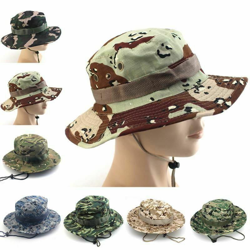 tactical men hats accessories camouflage bucket american