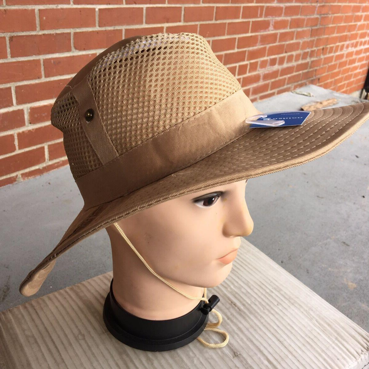 tan beige color australian outback safari bucket