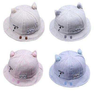 Toddler Summer Bucket Caps Reversible Hat