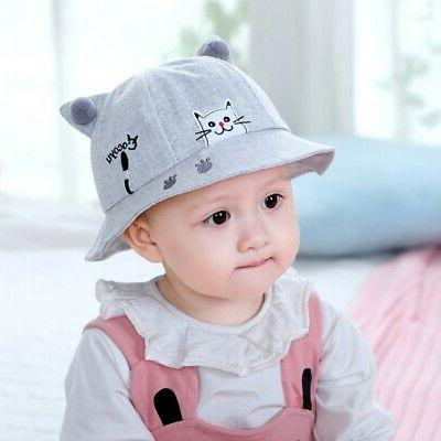 Toddler Baby Boy Summer Reversible Hat