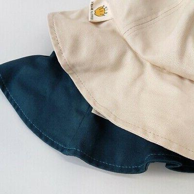 Solid Color Caps Sun Headwear