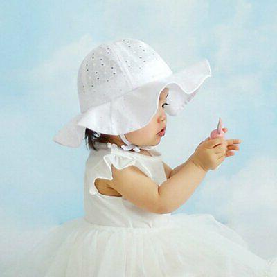 Toddler Infant Baby Girls Sun Outdoor Cap