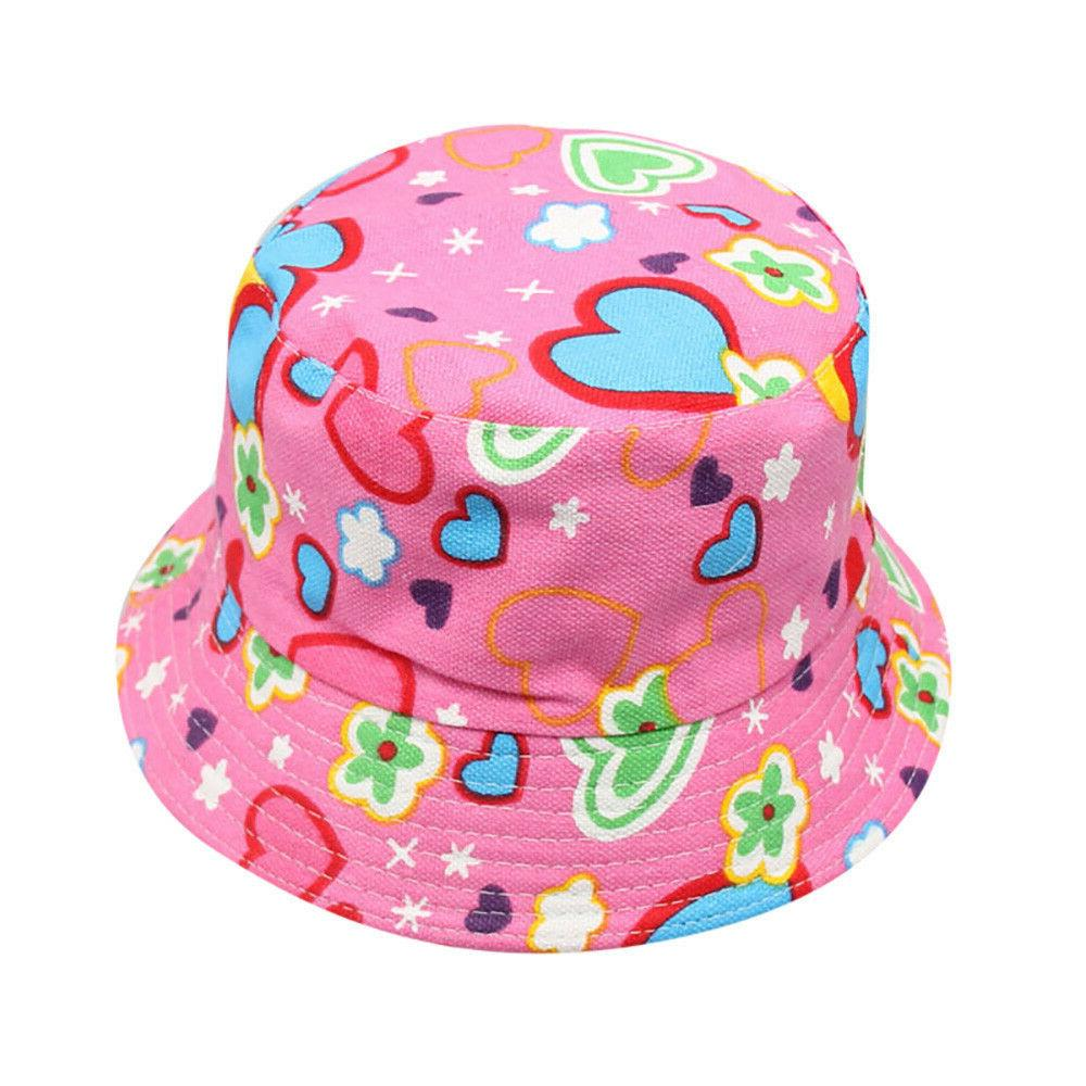 Toddler Kids Boys Girls Floral Pattern Hats Cap Hats NEW