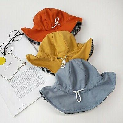 Toddler Double Sided Bucket Hat