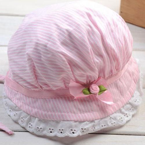 Toddler Infant Baby Outdoor Bucket Summer Sun Cap