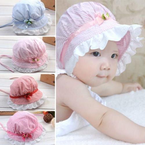 toddler infant baby girls outdoor bucket hats