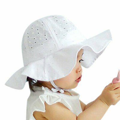 Toddler Infant Baby Girls Sun Cap