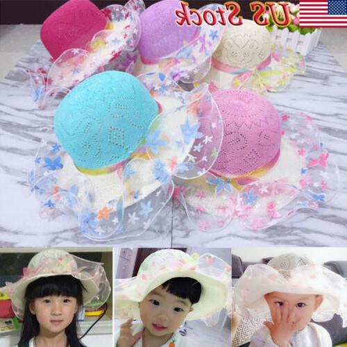 toddler kid baby girl outdoor sun hat