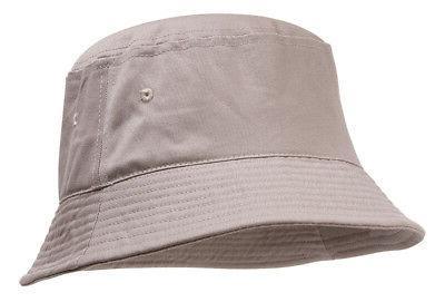 topheadwear blank cotton bucket hat