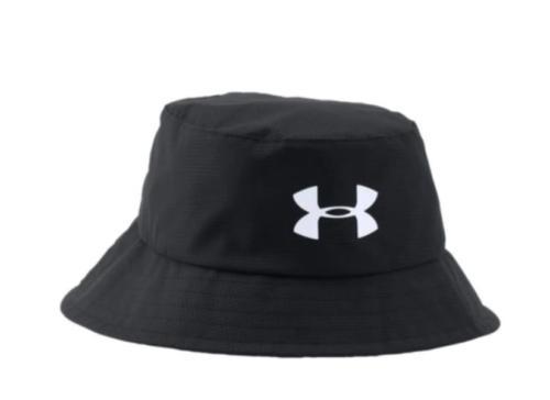 ua golf airvent black headwear bucket hat