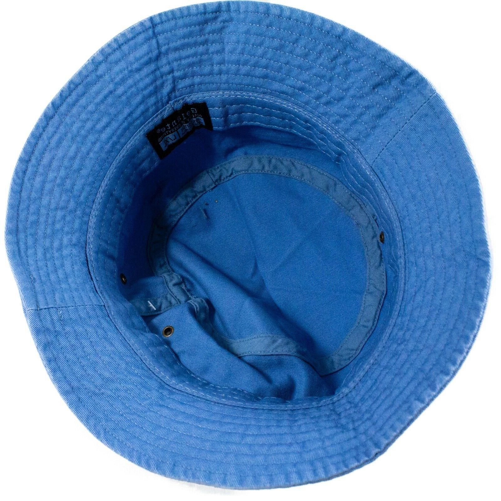 Unisex Cotton Bucket Hat Safari Boonie Sun
