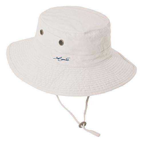 unisex bonnie bucket hat with chin cord