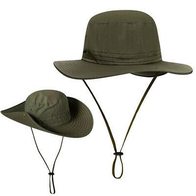 Unisex Booney Protection Safari Bucket Cap Sun Hat