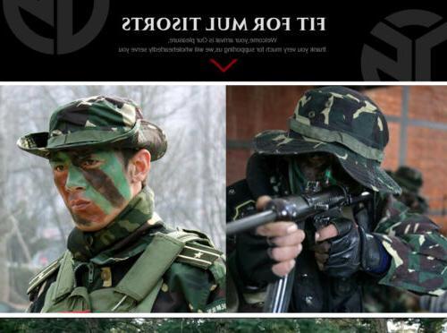 Unisex Sun Brim Military