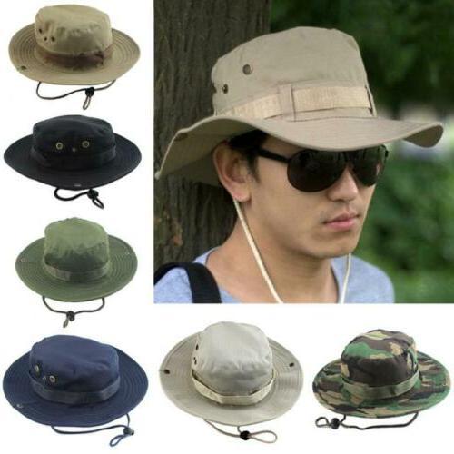 unisex bucket boonie hat sun cap round