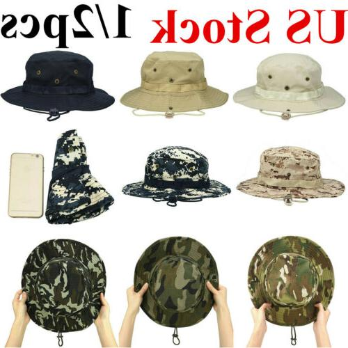 unisex bucket hat fishing hunting boonie sun