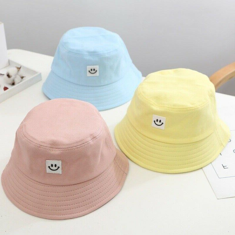 Unisex Foldable Smile Bucket Hat Cap Smile