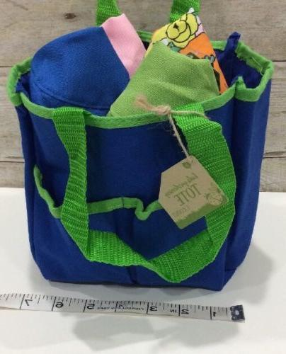 Unisex Infant/TODDLER Sun HAT LOT of 4 Hats with Garden tote bag