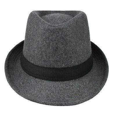 Woolen Trilby Fedora Panama Hat