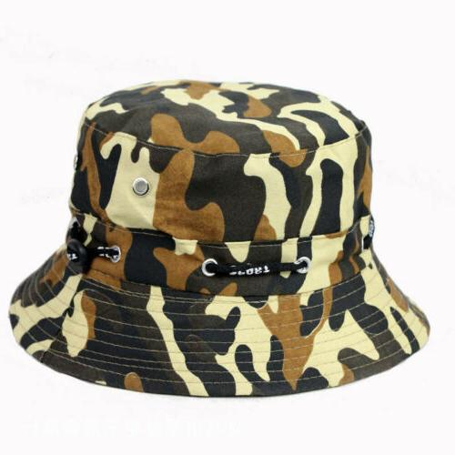 Men Fishing Bucket Hat Visor Brim Outdoor