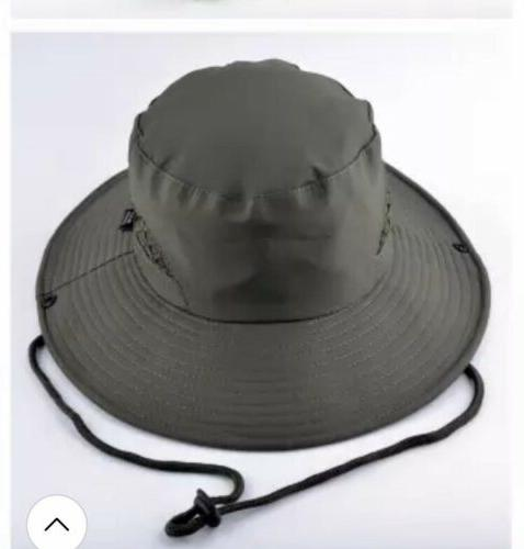 UNISEX Green bucket safari Hat ONE Size