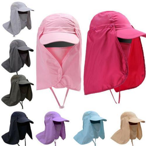 UV Protect Hat Fold Sun Cap Outdoor