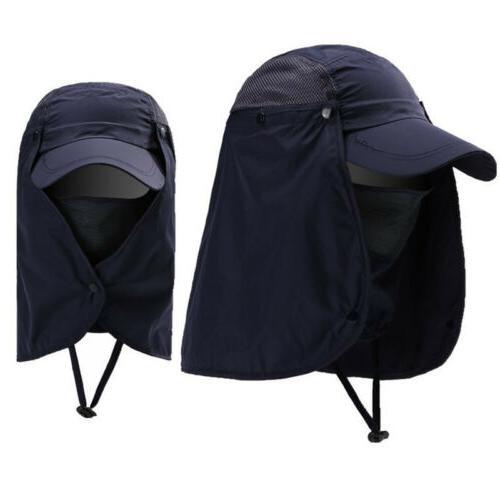 Unisex Sport Fishing Hiking UV Hat Sun Umbrella Cap Outdoor