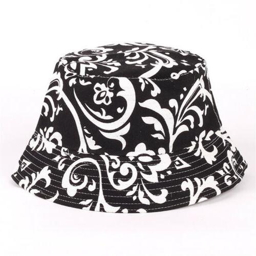 Womens Floral Bucket Hiking Summer Outdoor