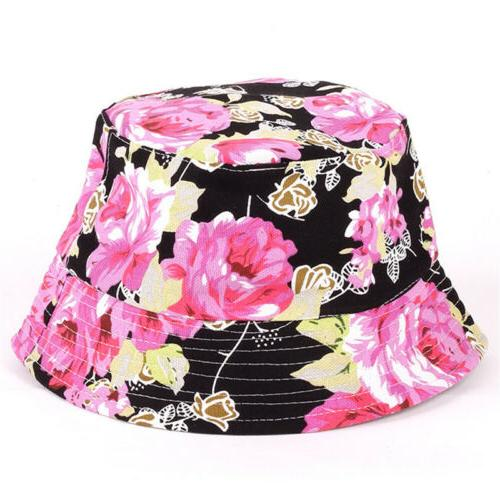 Women Hat Outdoor Floral Cap