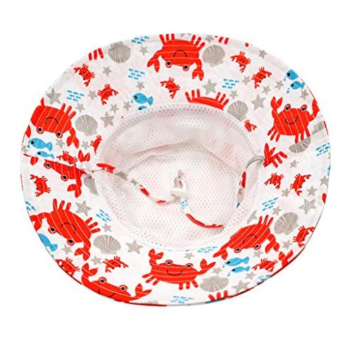 Home 50+ Little Kids Beach Boys Girls Protection Hat Crab