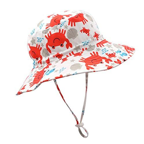 upf 50 little kids safari hat beach