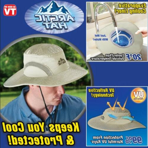 US Arctic Cooling Hat UV Protection Keep Cooling Protected