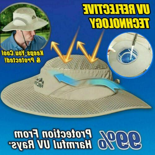 US Hat Cooling Bucket Hat with UV Protected