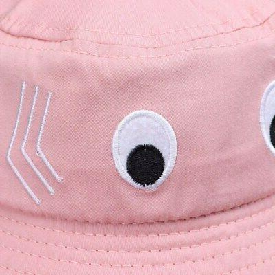 Baby Kids Cartoon Print Bucket Caps Reversible Hat US