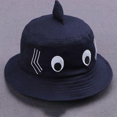 Baby Kids Girl Cartoon Caps Reversible Headwear Hat