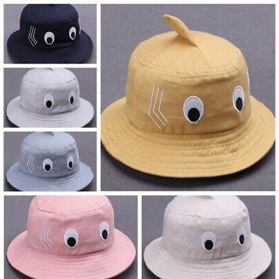 US Girl Cartoon Hats Reversible Sun Headwear Hat