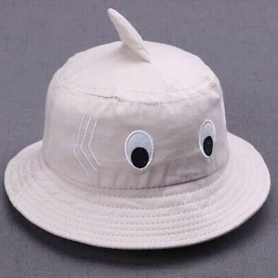 US Baby Girl Cartoon Hats Reversible Headwear Hat