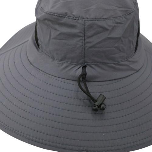 US Men's Wide Brim Sun Waterproof Boonie Hat