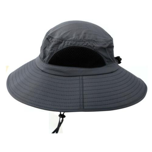 US Men's Wide Sun Outdoor Hat
