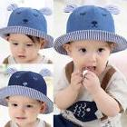 US Newborn Baby Girls Boys Bucket Hats Toddler Outdoor Beach