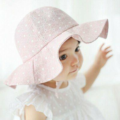 Toddler Baby Girls Hat Outdoor Bucket Beach Cap
