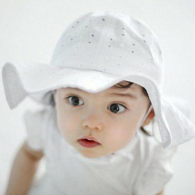 US Toddler Girls Outdoor Hat Beach Headwear