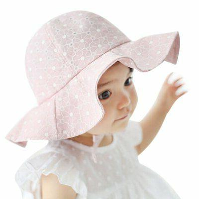 US Girls Outdoor Sun Hat Brim Summer Bucket Hats Beach Headwear